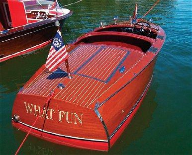 Glacier Lakes Chapter Boats